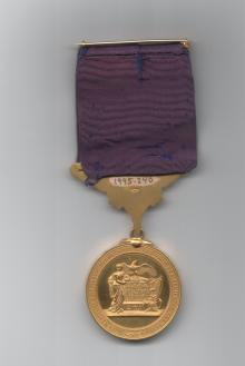 Awarded to Joshua James for the Rescue of the Gertrude Abbot