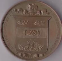 Bronze Medal Awarded to Harrison Mitcell by the Massachusetts Humane Society for