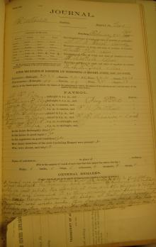Log Entry for February 25, 1900