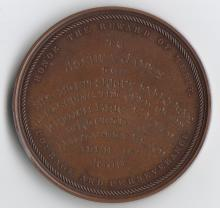Massachusetts Humane Society Bronze Medal, Awarded to Joshua James for the Rescu