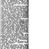 Boston Globe Article, December 4, 1898