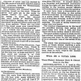 Boston Globe Article, April 9, 1894